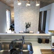 壁にTV設置可能(キッチン)